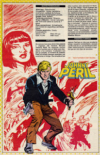 Johny Peril ficha dc comics