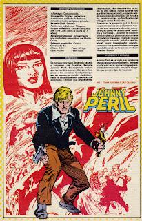 Johny Peril ficha dc comics