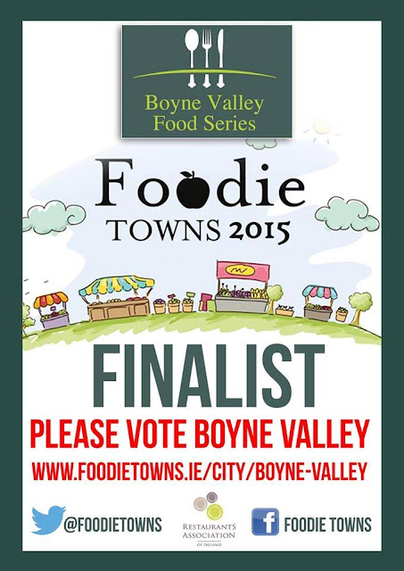 Vote for the Boyne Valley & make it the 2015 Foodie Town