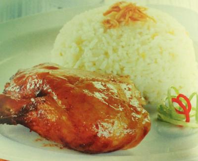 Ayam Panggang Nasi Jahe