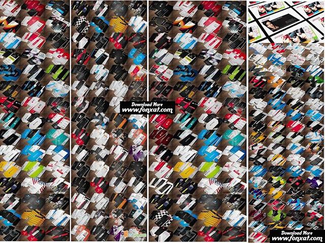 مكتبة الكروت الشخصية psd للفوتوشوب العدد 200 كارت