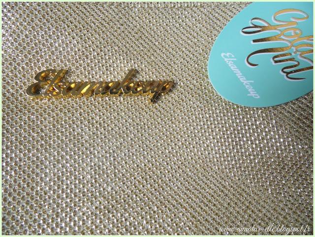 Le Gold mint kit : les pinceaux d'Elsamakeup