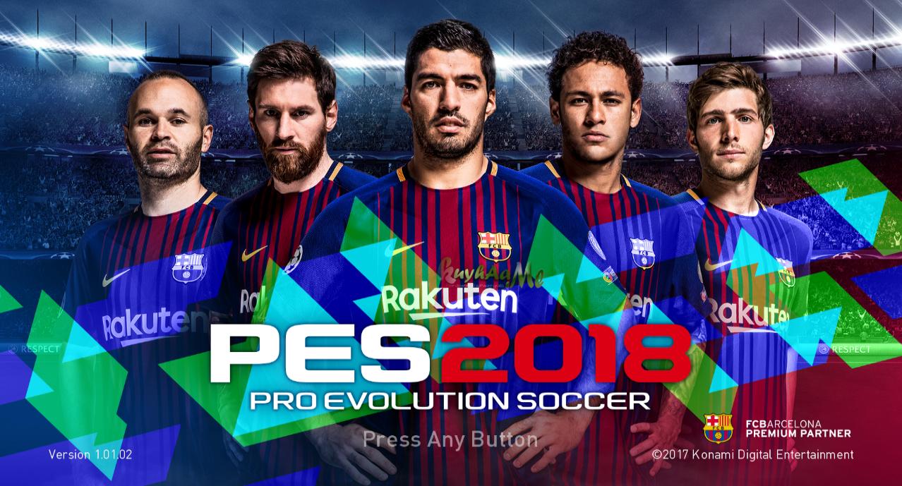 Pro Evolution Soccer 2018 Full Version Kuyhaa Me