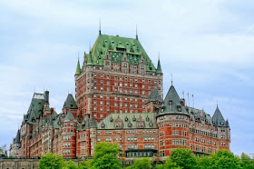 The historic Chateau Frontenac