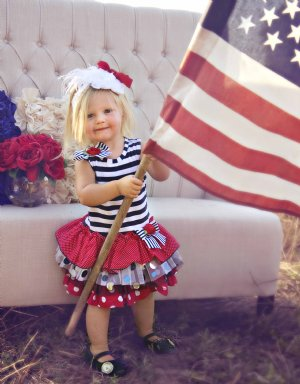 4th of July Outfits For Cute Girl
