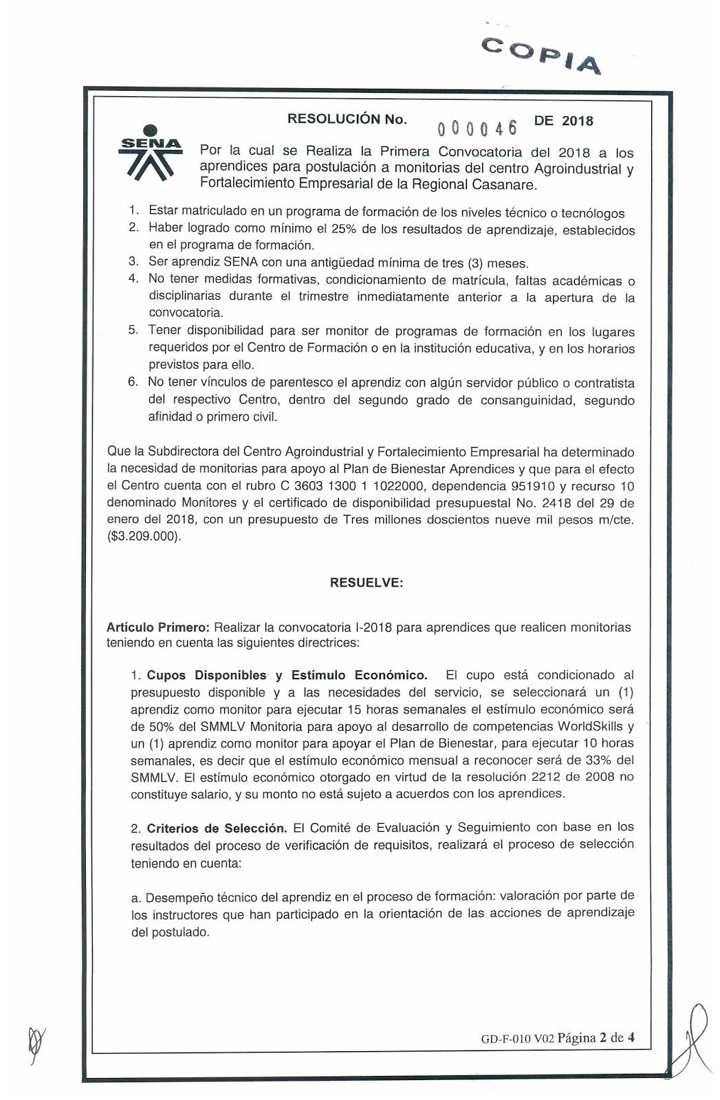 Magnífico Reanudar Los Criterios De Selección Inspiración - Ejemplo ...