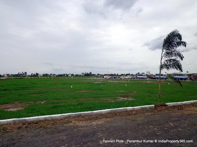 Ponneri Plots - Gomathi Amman Nagar - Ponneri Smart City