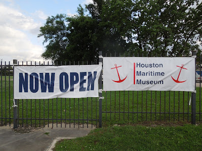NOW OPEN: HOUSTON MARITIME MUSEUM (4/18/2019)
