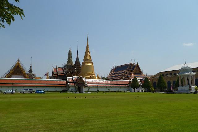 Kompleks Wat Phra Kaeo i Wielkiego Pałacu