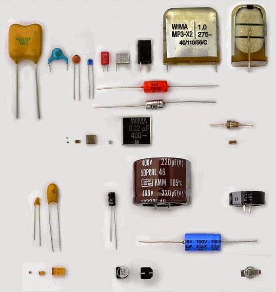 Electronics Circuits Softwares amp Websites Collections 566 x 599 jpeg 566px-Verschiedene_Kondensatoren_2.JPG