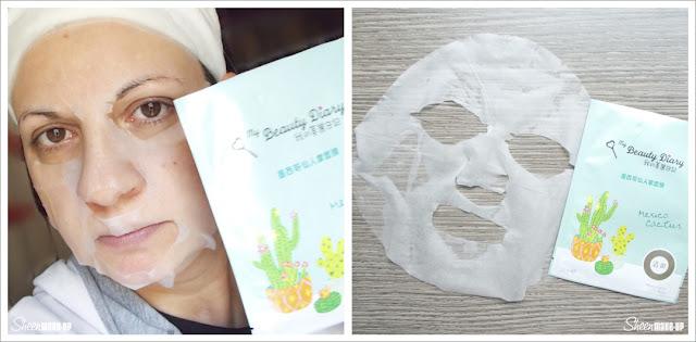 Mexico Cactus Mask My Beauty Diary