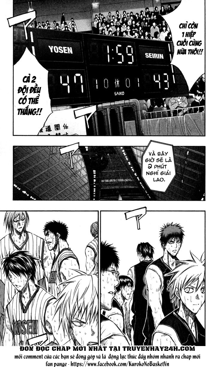 Kuroko No Basket chap 160 trang 6