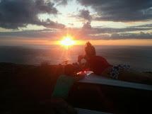 Bree Wee Sharing Sunset