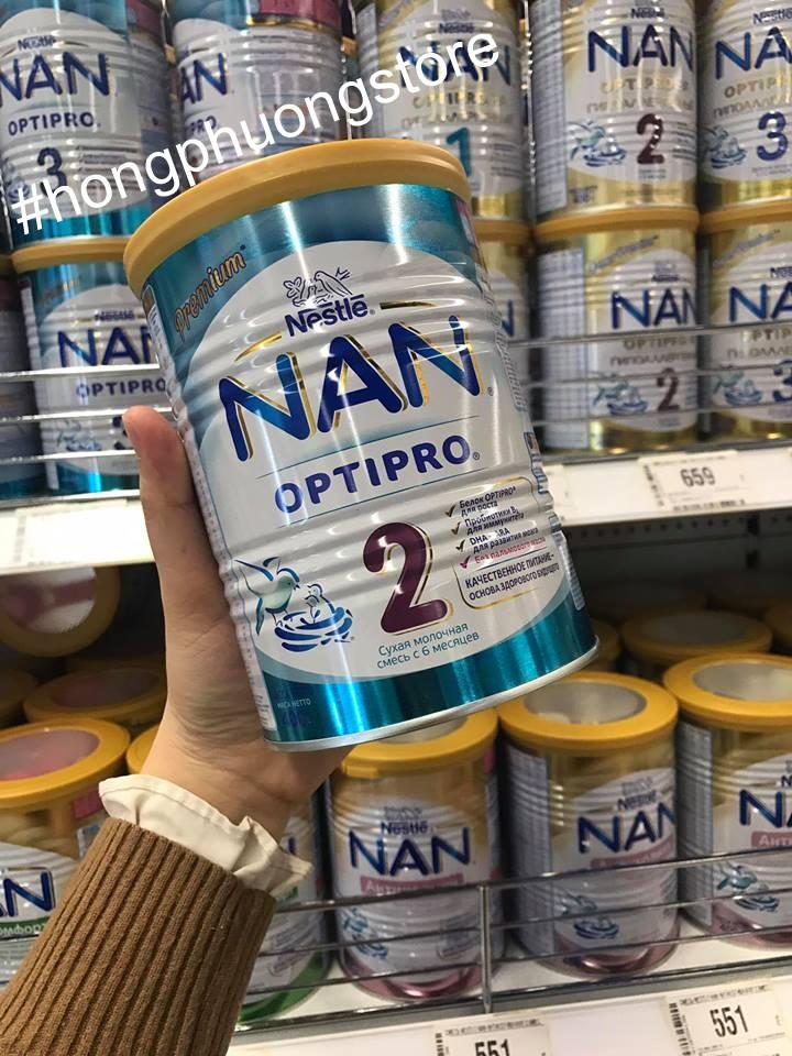 Video mua sữa NAN nga xách tay cho bé tại Nga