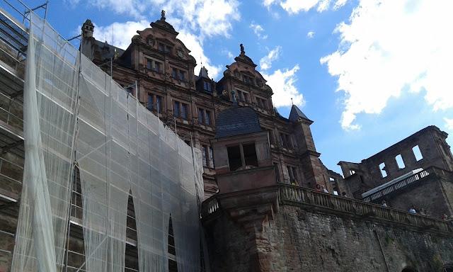 Heidelberg Kalesi ön kısım...