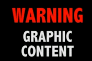 Text Image 'Warning Graphic Content'