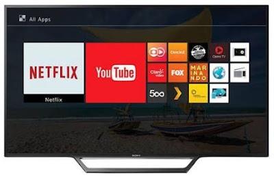 """Foto da Smart TV LED 32"""" Sony KDL-32W655D 2 HDMI LAN (Rede)"""