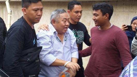 Polisi: Lieus Sungkharisma Ditangkap di Apartemen Bersama Seorang Wanita