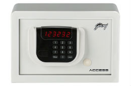 Godrej Electronic Safe For Rs 4999 (Mrp 7299) at Amazon discount deal by rainingdeal
