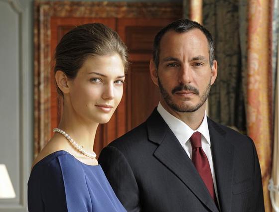 Rahim Agakhan and Kendra Spears (now Princess Salwa