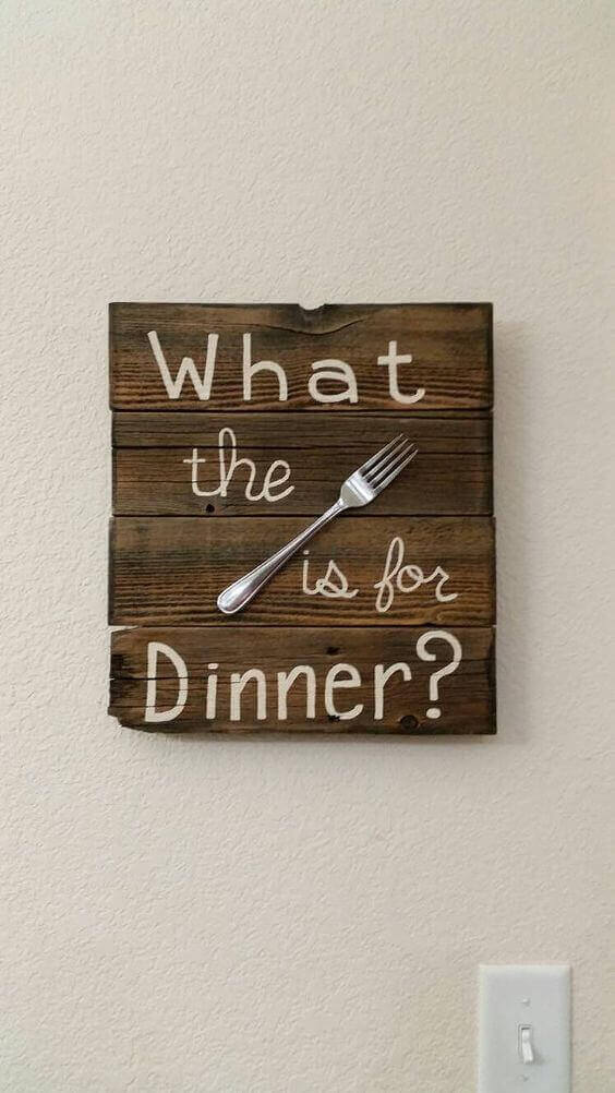 What the 'fork' is for Dinner