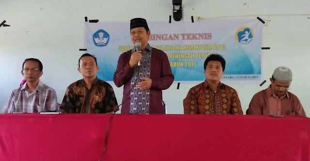 250 Guru dan Kepala SMP se Lutra Ikut Bimtek K13
