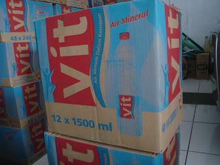 aqua home service baskoro: VIT 1500 ml