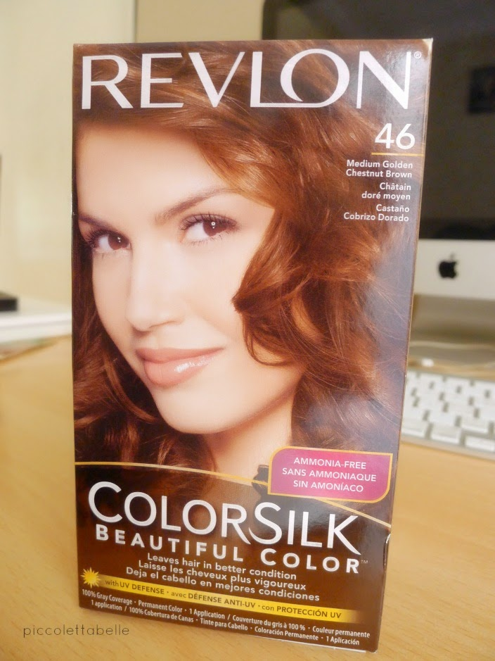 Hair Revlon Colorsilk 46 Medium Golden Chestnut Brown