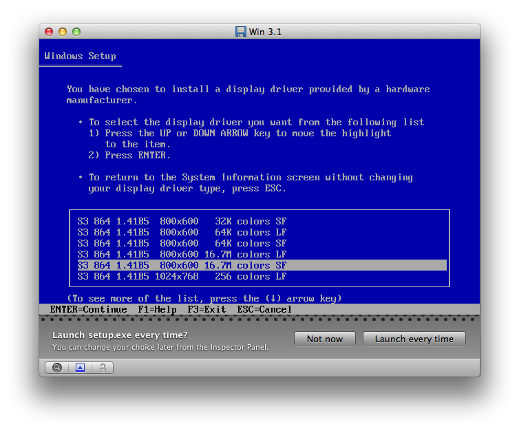 Setup Will Now Copy Some Files And Ask Once Again For The Path To The Driver Disk Which Is Still C Addon S3