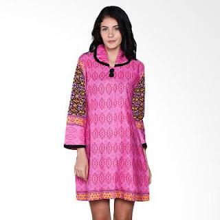 Model Dress Batik Modern