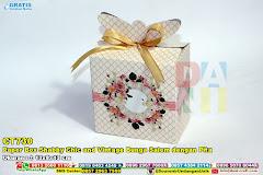 Paper Box Shabby Chic And Vintage Bunga Salem Dengan Pita