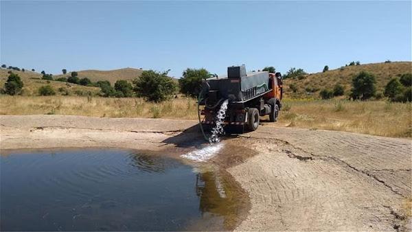 Πίνδος: Στέρεψαν οι πηγές, με υδροφόρες νερό για τα κοπάδια