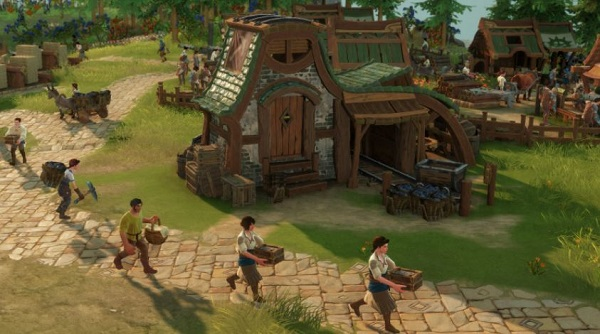 The Settlers Gameplay