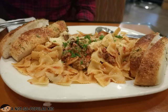 The Bolognese  of California Pizza Kitchen