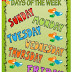 Classroom Poster: Days of the Week