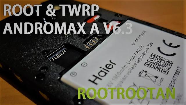 Cara Root dan Pasang TWRP Andromax A V6.3 Tanpa Test Point Downgrade