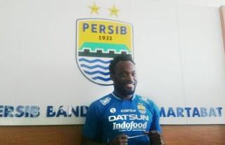 Essien Marquee Player Persib Liga 1 Indonesia 2017