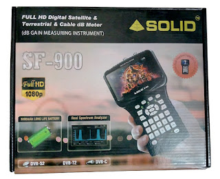 SOLID launched dB meter for Cable TV, DVB-T2 and Satellite