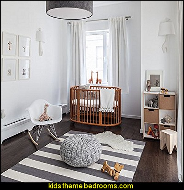 Decorating theme bedrooms Maries Manor modern baby nursery