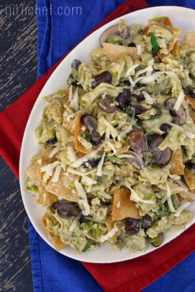 Mushroom & Leek Migas {The New Southwest #CookbookSpotlight} | www.girlichef.com