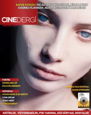 Cinedergi 102. Sayı (Nisan) - The Autopsy of Jane Doe