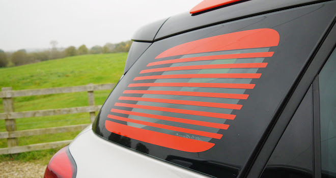 Citroen C3 Aircross window stripes