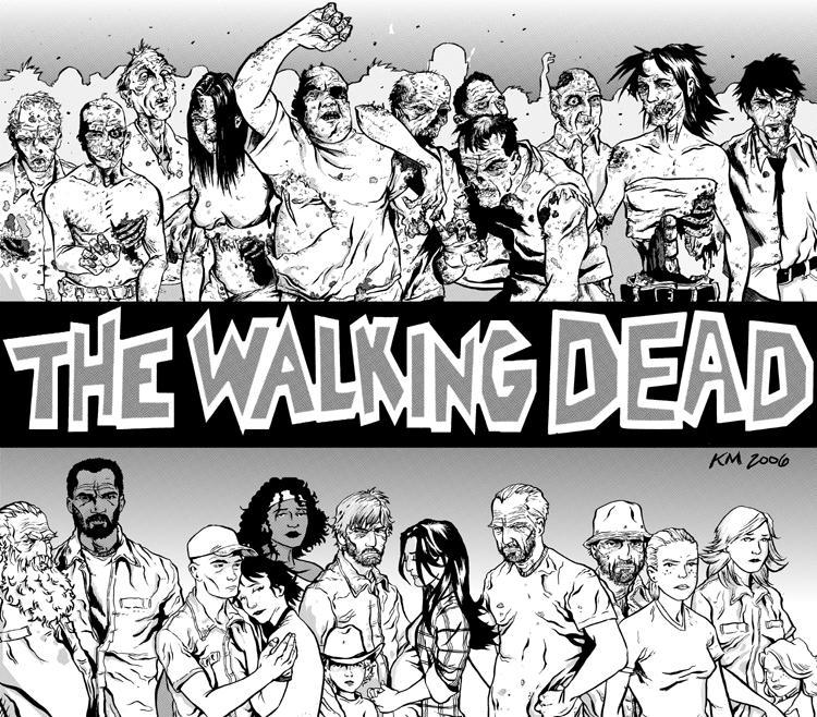 The walking dead cbr 124