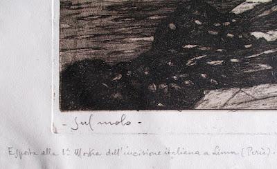 Due acqueforti di Angelo Bottigelli - annunci