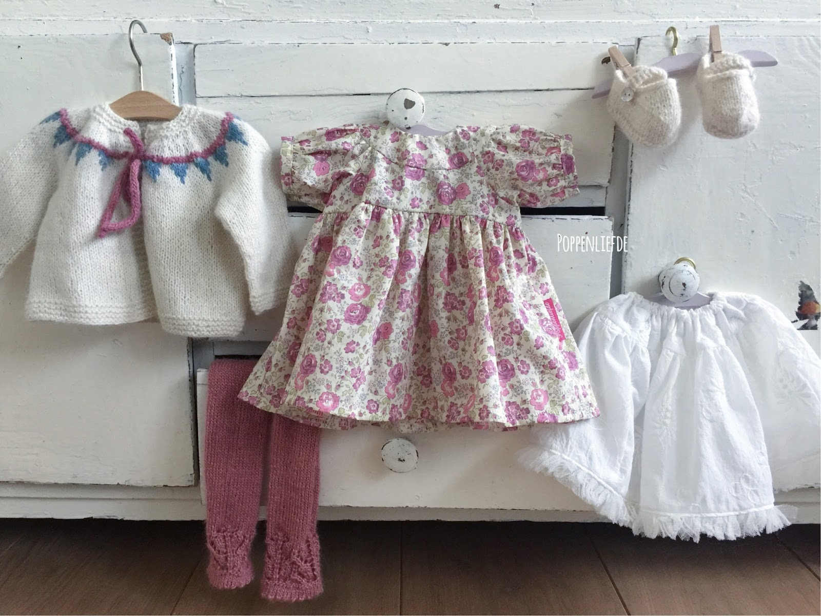 Poppenliefde doll clothing set