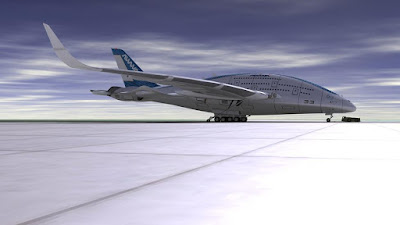 Apakah pesawat berbentuk paus akan menjadi pesawat masa depan ?