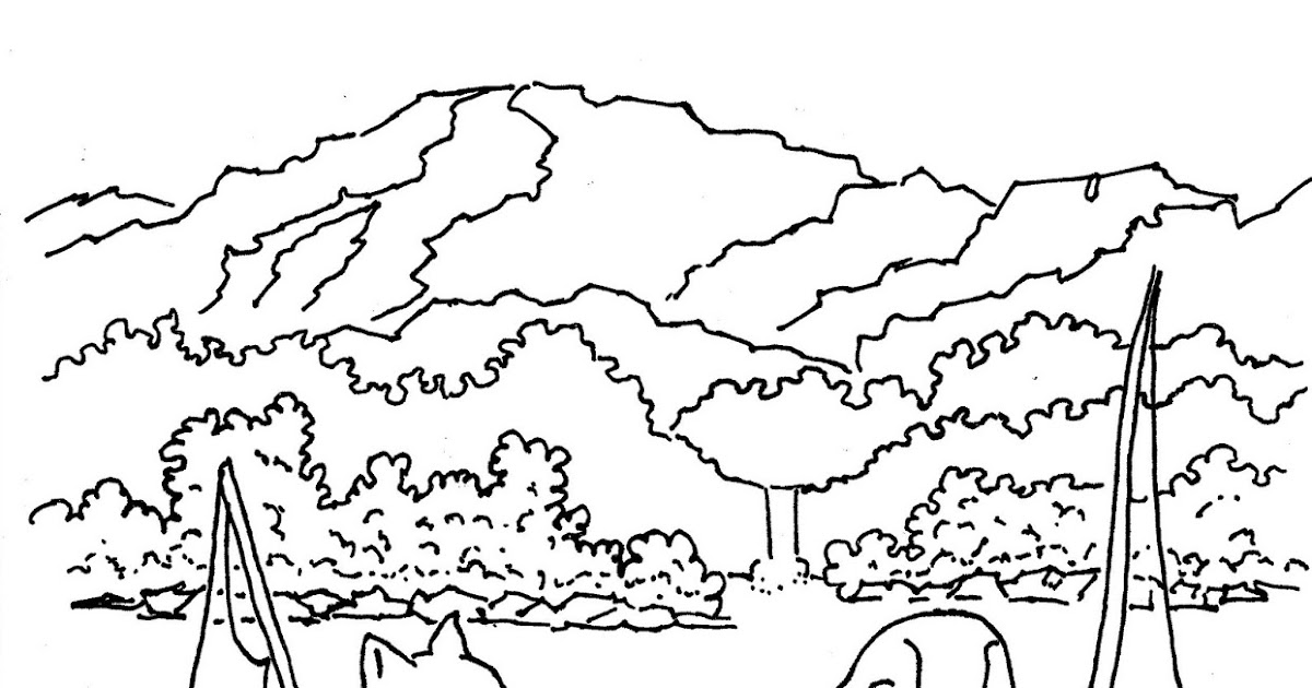 Coloring Pages for Kids by Mr. Adron: Dog And Cat Friends
