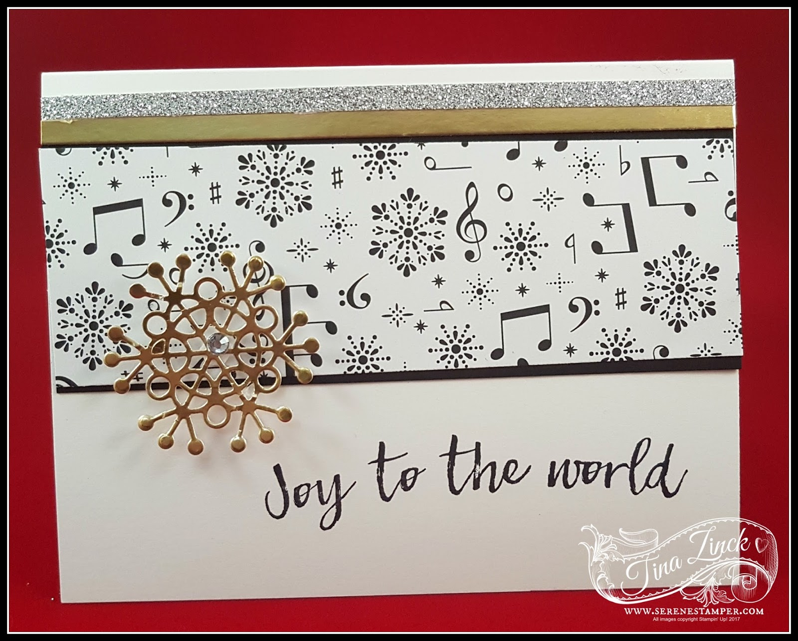 The Serene Stamper: Merry Music Christmas Cards