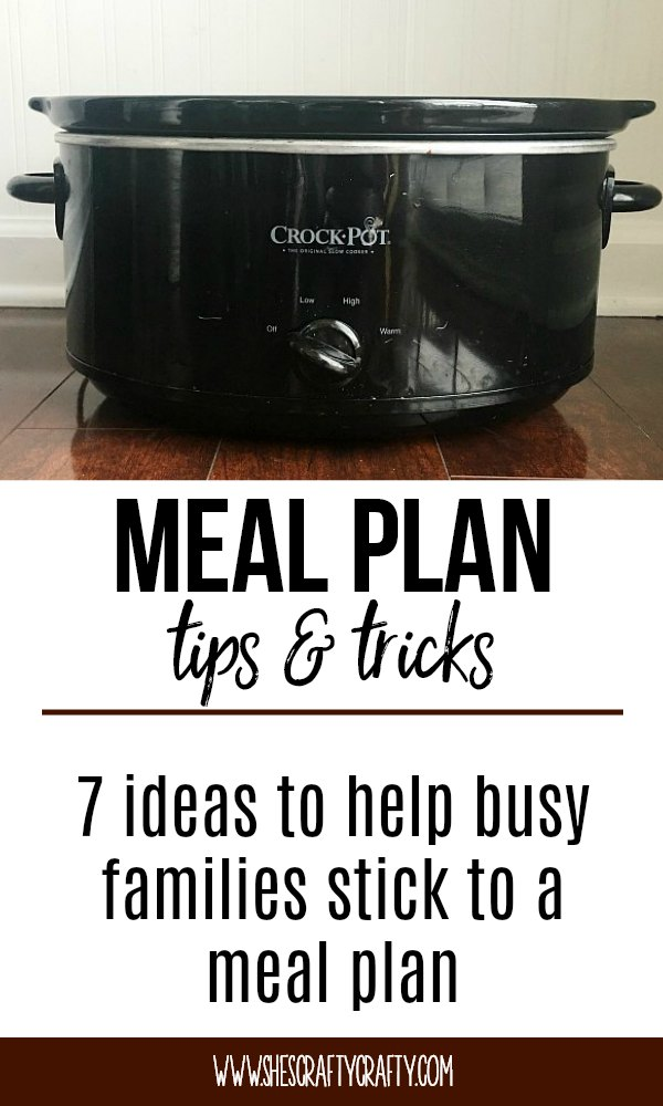 crock pot, 7 tips, meal plan
