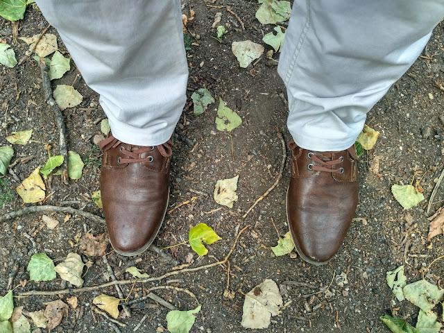 pánsky outfit - topánky